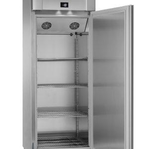 Gram Eco Twin F82 Single Door Freezer-Stainless Steel
