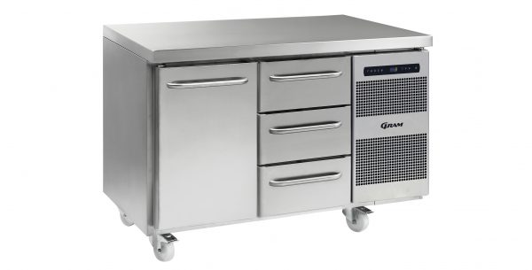 Gram Gastro K1407CSHADL/3DC2 Counter Fridge-1 Door & 3 Drawers