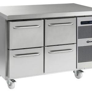 Gram Gastro K1407CSHA2D/2DC2 Counter Fridge-4 Drawers