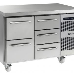 Gram Gastro K1407CSHA2D/3DC2 Counter Fridge-5 Drawers
