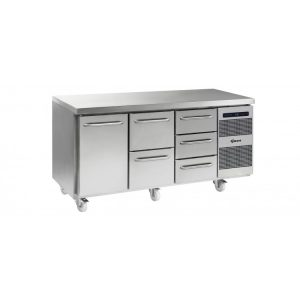 Gram Gastro K1807 3 Door Counter Fridge -1 Door & 5 Drawers