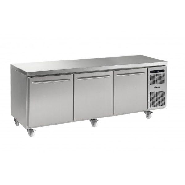 Gram Gastro K2408 3 Door Counter Fridge (865ltr)-3 Door