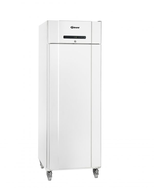 Gram Compact K610 Single Door Fridge (513ltr)-White