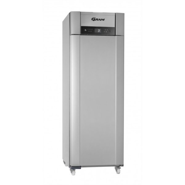 Gram Superior Plus K72 Single Door Fridge-Vario Silver