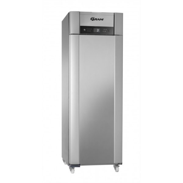 Gram Superior Plus M72 Fresh Meat Single Door Fridge-Stainless Steel