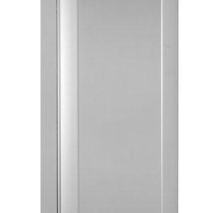 Gram Superior Twin M84 Fresh Meat Single Door Fridge-Vario Silver