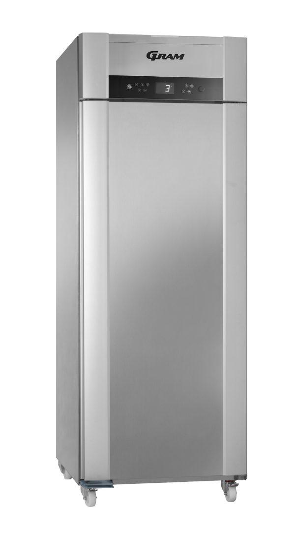 Gram Superior Twin M84 Fresh Meat Single Door Fridge-Stainless Steel