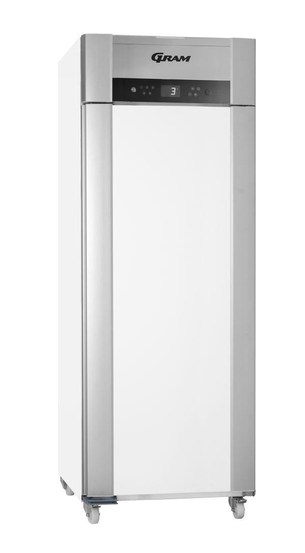 Gram Superior Twin M84 Fresh Meat Single Door Fridge-White