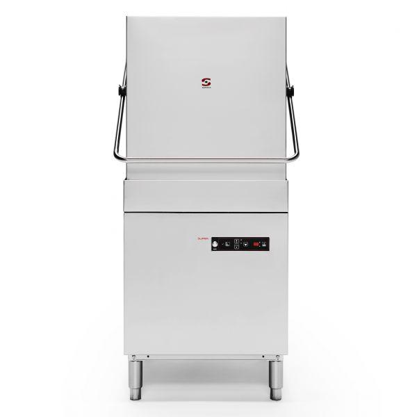 Sammic S-120 Pass Through Dishwasher-Drain Pump + Constant Rinse Temperature System