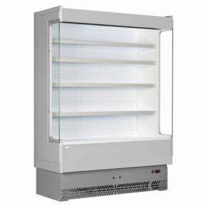 Interlevin SP60-125 Italia Range Slimline Multideck-Grey - White-No Door