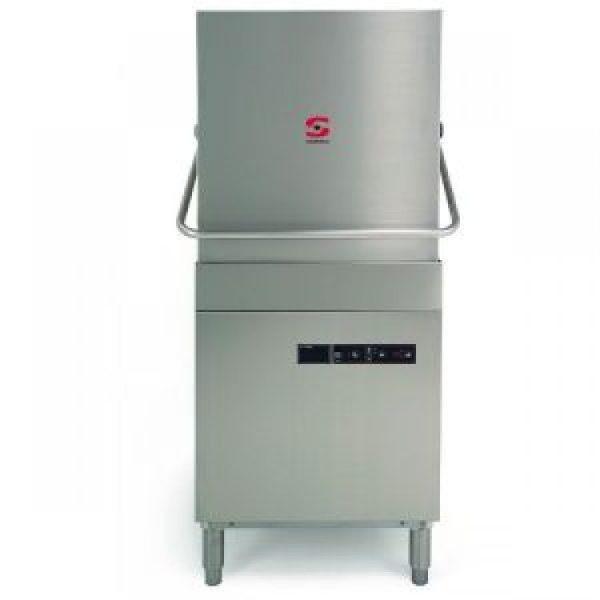 Sammic X-120 X-tra Pass Through Dishwasher-Drain Pump + Constant Rinse Temperature System