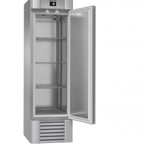 Gram Eco Midi F60 Upright Freezer -Stainless Steel