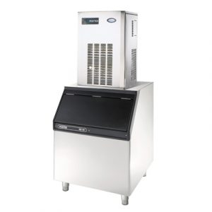 Foster FMIF220 Integral Ice Maker-SB 305 Bin with Lid