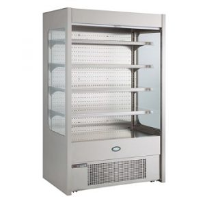Foster Pro FMPRO1200 Multideck -Stainless Steel-No Door-Undershelf lighting