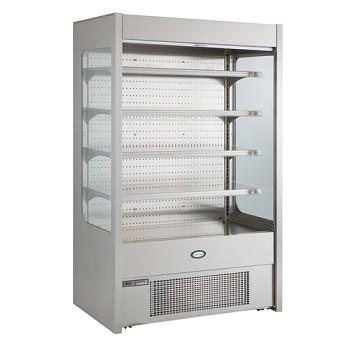 Foster Pro FMPRO1200 Multideck -Stainless Steel-No Door-Undershelf lighting