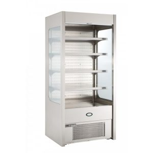 Foster Pro FMPRO900 Multideck -Stainless Steel-No Door-Undershelf lighting