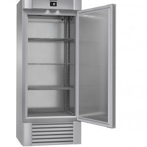Gram Eco Midi F82 Upright Freezer - Stainless Steel