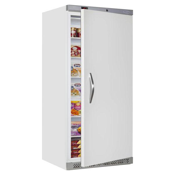 Tefcold UF550 Single Door Upright Freezer-White