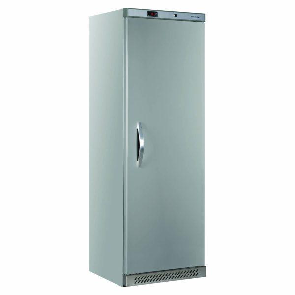 Tefcold UR400 Solid Door Refrigerator -Stainless Steel
