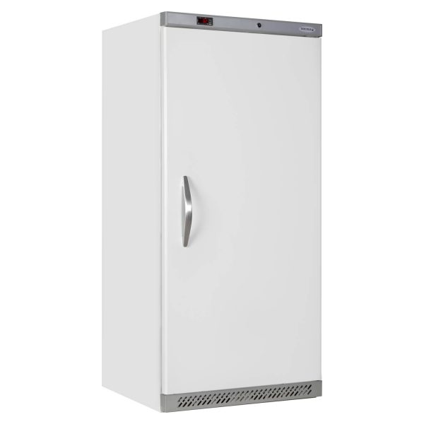 Tefcold UR550 Solid Door Upright Refrigerator -White