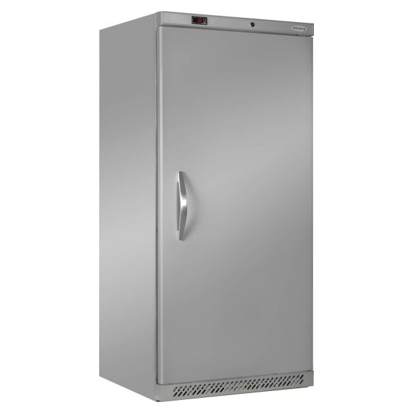 Tefcold UR550 Solid Door Upright Refrigerator -Stainless Steel