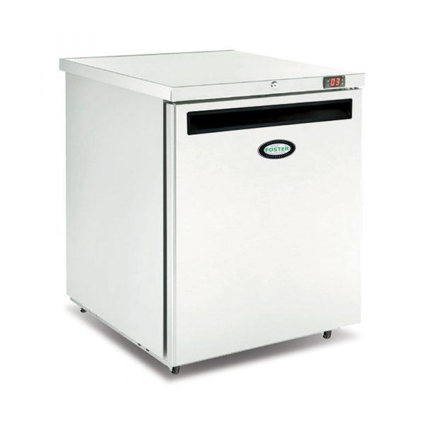 Foster HR200 Undercounter Refrigerator-Solid Door-R134a