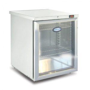 Foster HR200 Glass Door Undercounter Refrigerator-Glass Door-R290