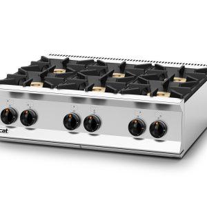 Lincat Opus 800 OG8004 6 Burner Boiling Top