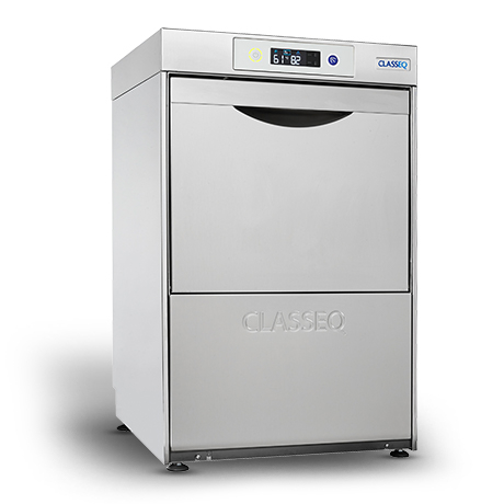 Classeq D400DUO Dishwasher -Built in Water Softener & Drain Pump