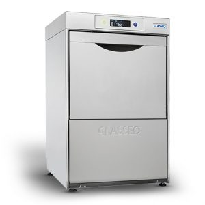 Classeq G400DUO Glasswasher -Built in Water Softener & Drain Pump