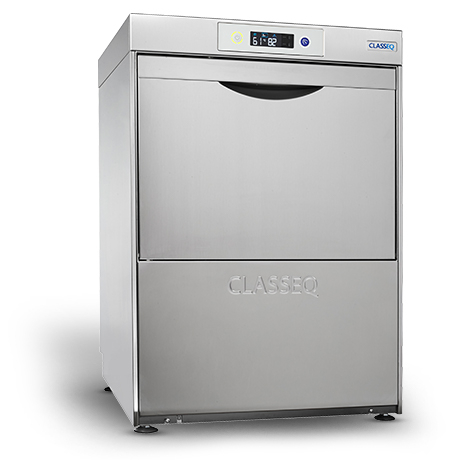 Classeq G500DUO Glasswasher -Built in Water Softener & Drain Pump