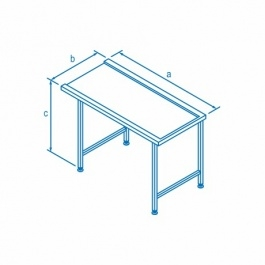 Classeq Right Hand Entry Table-0