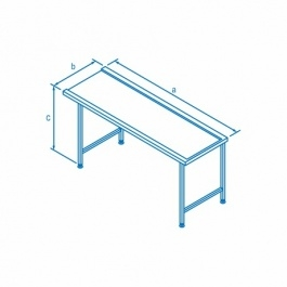 Classeq Right Hand Entry Table