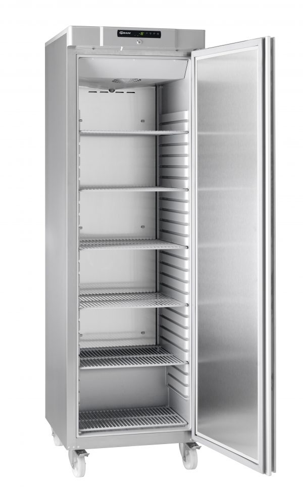 Gram Compact F410 Upright Freezer -Stainless Steel