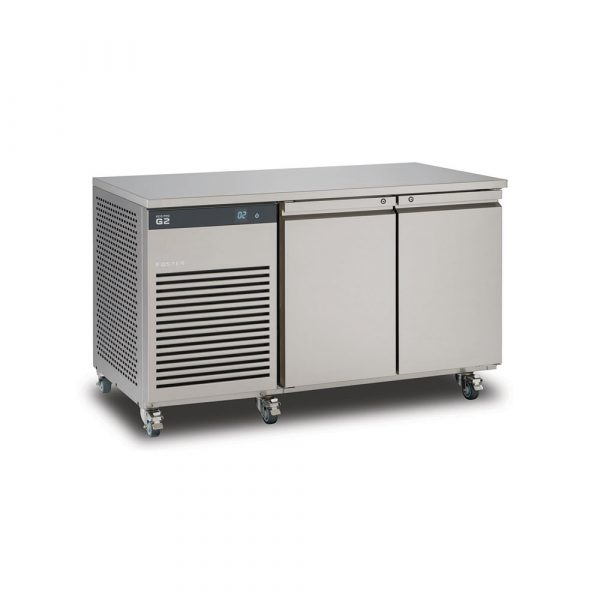 Foster EcoPro G2 EP1/2M Double Door Counter Meat Fridge-Stainless Steel Ext/Aluminum Int-R134a