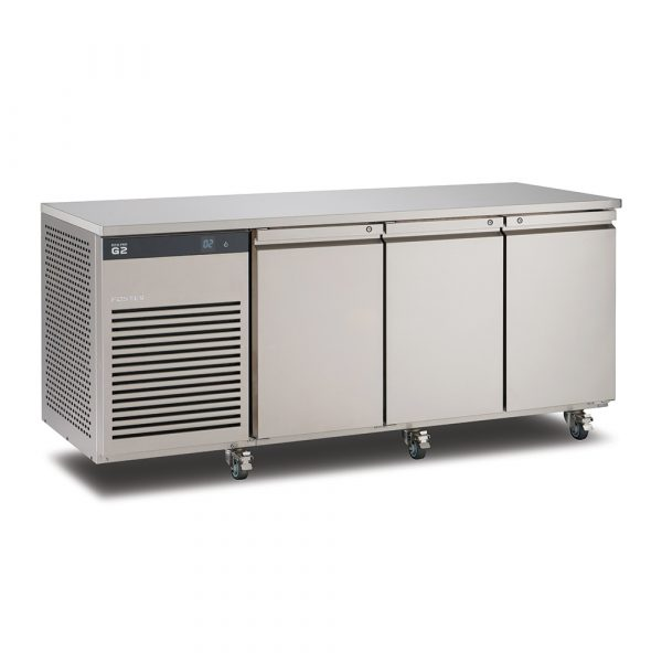 Foster EcoPro G2 EP1/3L 3 Door Counter Freezer-Stainless Steel Ext/Aluminum Int-R290