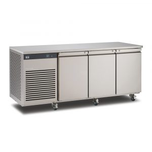 Foster EcoPro G2 EP1/3L 3 Door Counter Freezer-Stainless Steel-R290