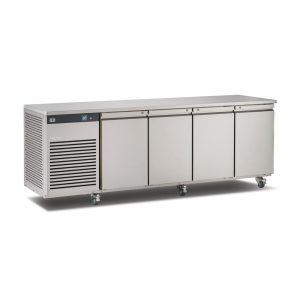 Foster EcoPro G2 EP1/4M 4 Door Counter Meat Fridge-Stainless Steel Ext/Aluminum Int-R134a