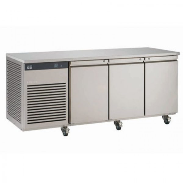 Foster EcoPro G2 EP1/3M 3 Door Counter Meat Fridge-Stainless Steel-R290