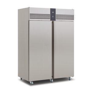 Foster EP1440H Double Door Fridge-Stainless Steel Ext/Aluminum Int-R134a