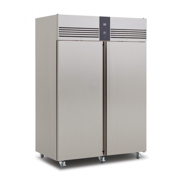 Foster EP1440H Double Door Fridge-Stainless Steel Ext/Aluminum Int-R134a
