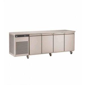 Foster EcoPro G2 EP1/4M 4 Door Counter Meat Fridge-Stainless Steel Ext/Aluminum Int-R290