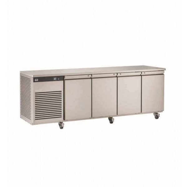 Foster EcoPro G2 EP1/4M 4 Door Counter Meat Fridge-Stainless Steel Ext/Aluminum Int-R290