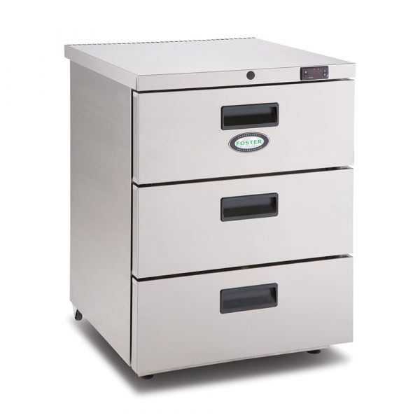 Foster HR150 3 Drawer Undercounter Cabinet
