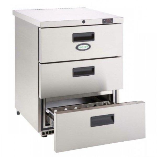 Foster HR150 3 Drawer Undercounter Cabinet-HC