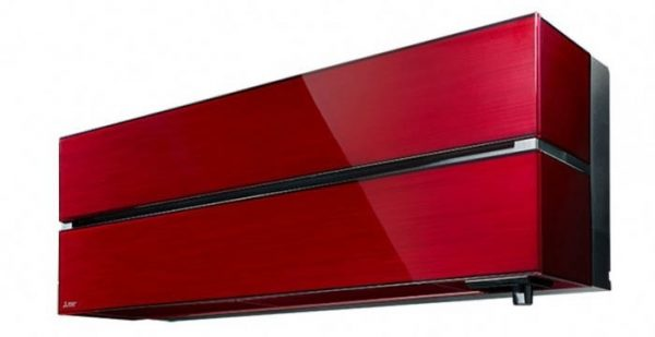 Mitsubishi Electric Zen MSZ-LN60VG Air Conditioning System-Ruby Red