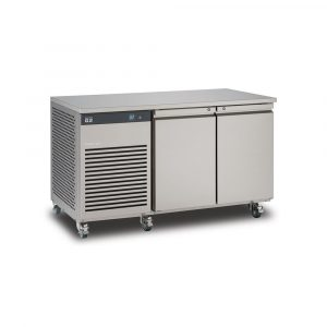 Foster EcoPro G2 EP1/2H Double Door Counter Fridge-Stainless Steel Ext/Aluminum Int-2 Door -R290