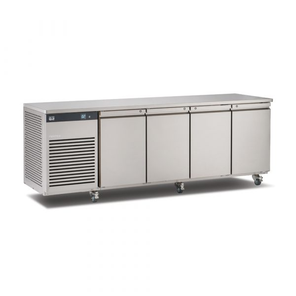 Foster EcoPro G2 EP1/4H 4 Door Counter Fridge-Stainless Steel-4 Door-R290