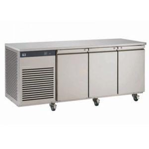 Foster EcoPro G2 EP1/3H 3 Door Counter Fridge-Stainless Steel Ext/Aluminum Int-3 Door-R290