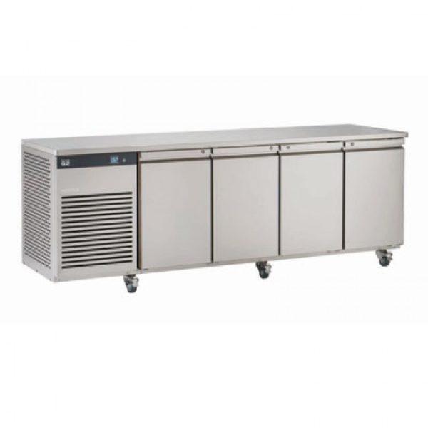 Foster EcoPro G2 EP1/4H 4 Door Counter Fridge-Stainless Steel Ext/Aluminum Int-4 Door-R290